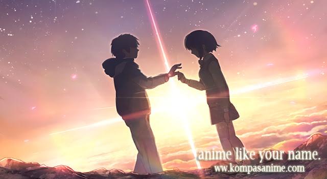 7 Anime Yang Mirip Kimi no Na wa Terbaik [ Paling Direkomendasikan ]