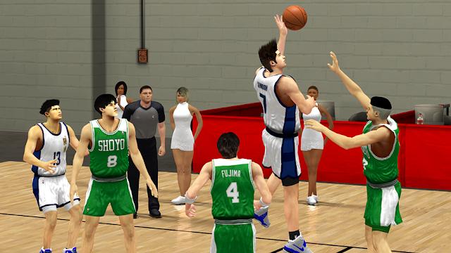 Ryonan Sendoh Shoyo Slam Dunk NBA2K14