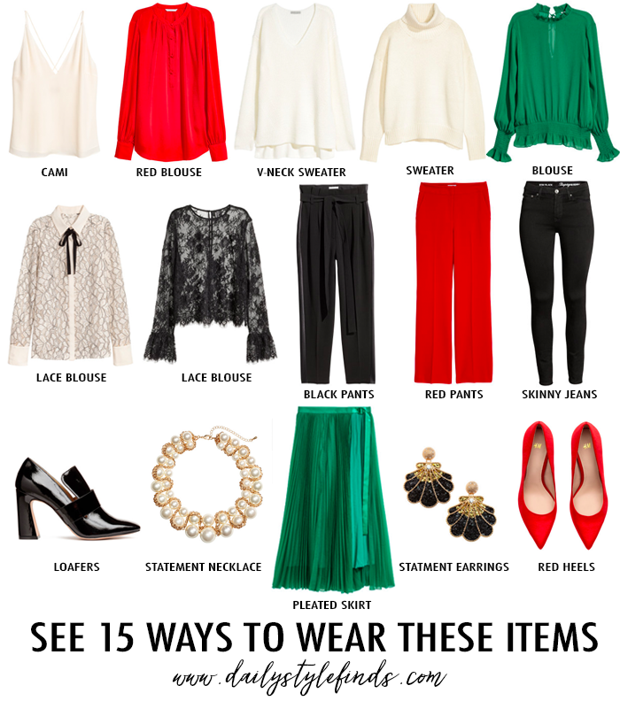 15 Christmas Party Outfit Ideas - Daily Style Finds: 15 Christmas Party Outfit Ideas
