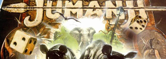 Jumanji, de Chris Van Allsberg y Joe Johnston - Cine de Escritor