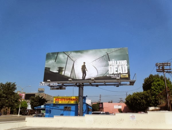 Walking Dead 4 billboard