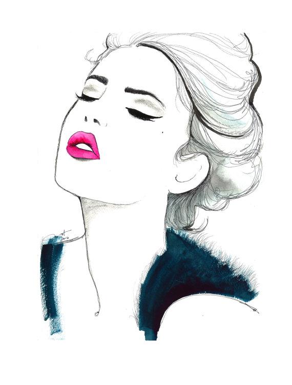 módní ilustrátor
