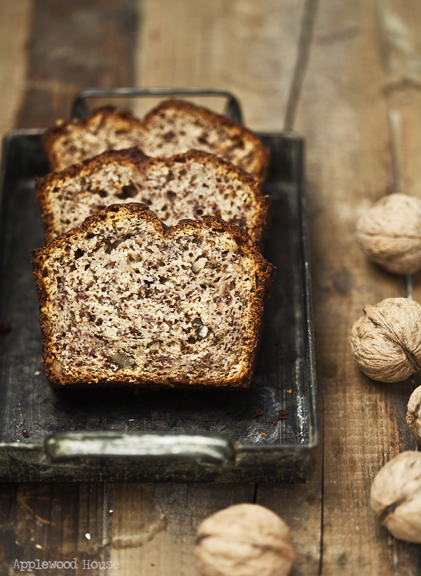Banana Bread Bananen Brot Kuchen Applewoodhouse