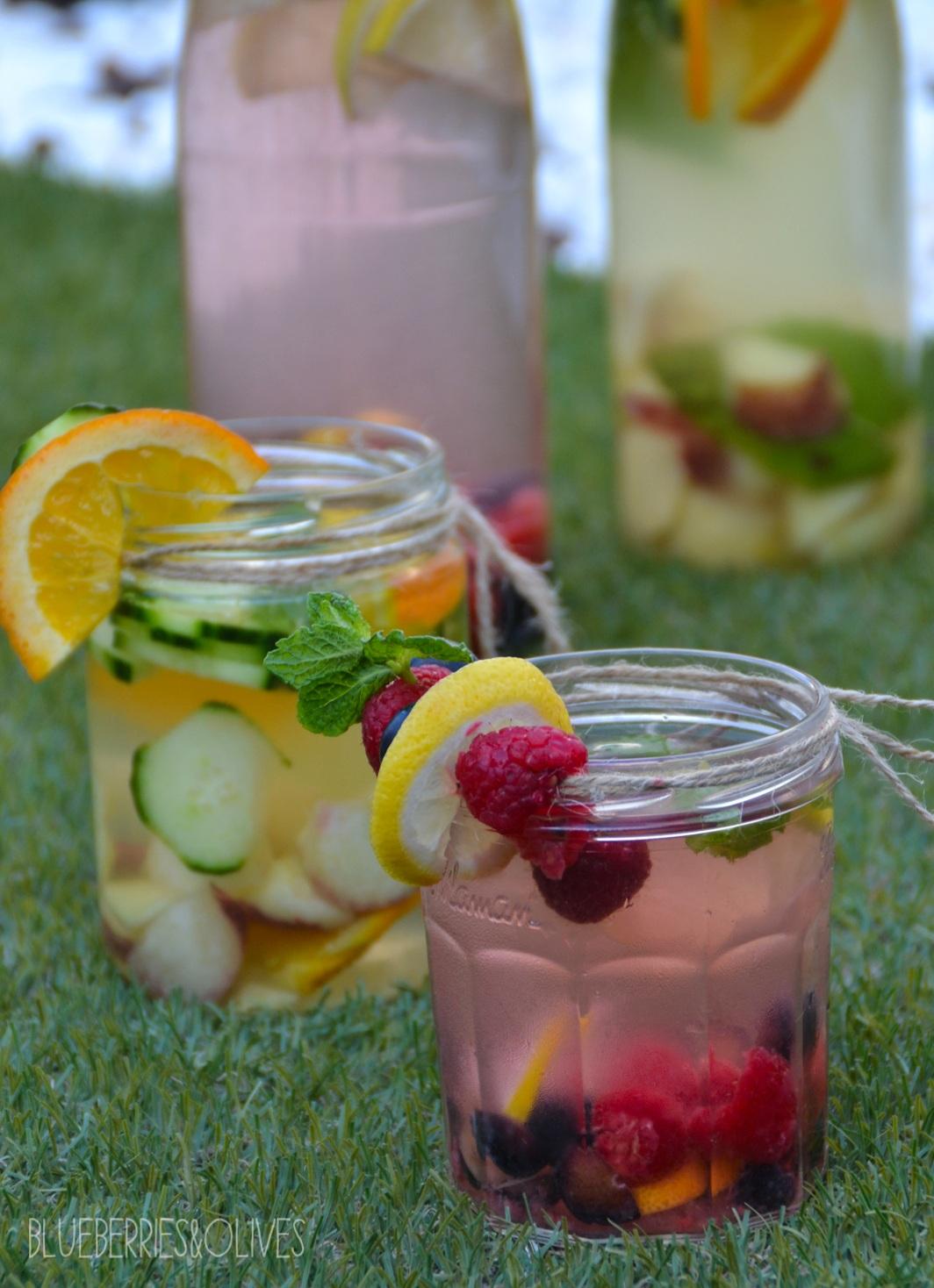 Aguas infusionadas con frutas 1