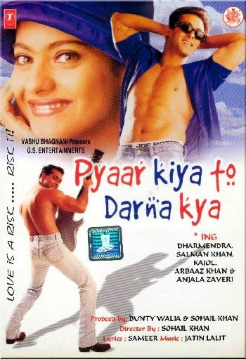 Pyaar Kiya To Darna Kya 1998 Hindi 720P BrRip 1GB, Pyar kya to darna kya Old Salman khan kajol Hindi Movie HD DvdRip Blu ray Untouched original 720P Watch online direct download From World4uFRee.cc