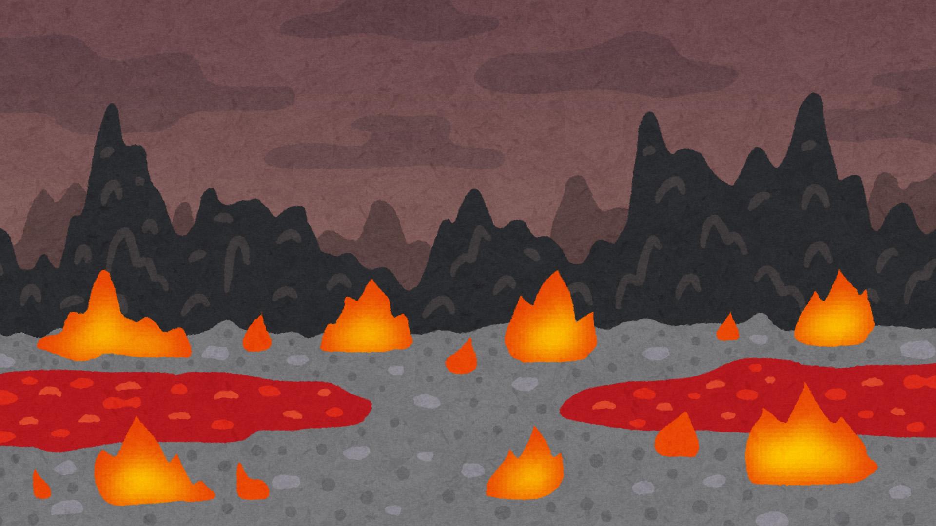 「フリー素材 地獄」の画像検索結果