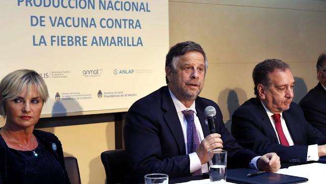 La Argentina comenzará a producir una vacuna contra la fiebre amarilla