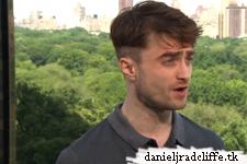 Daniel Radcliffe talks Broadway & love of New York with HLN