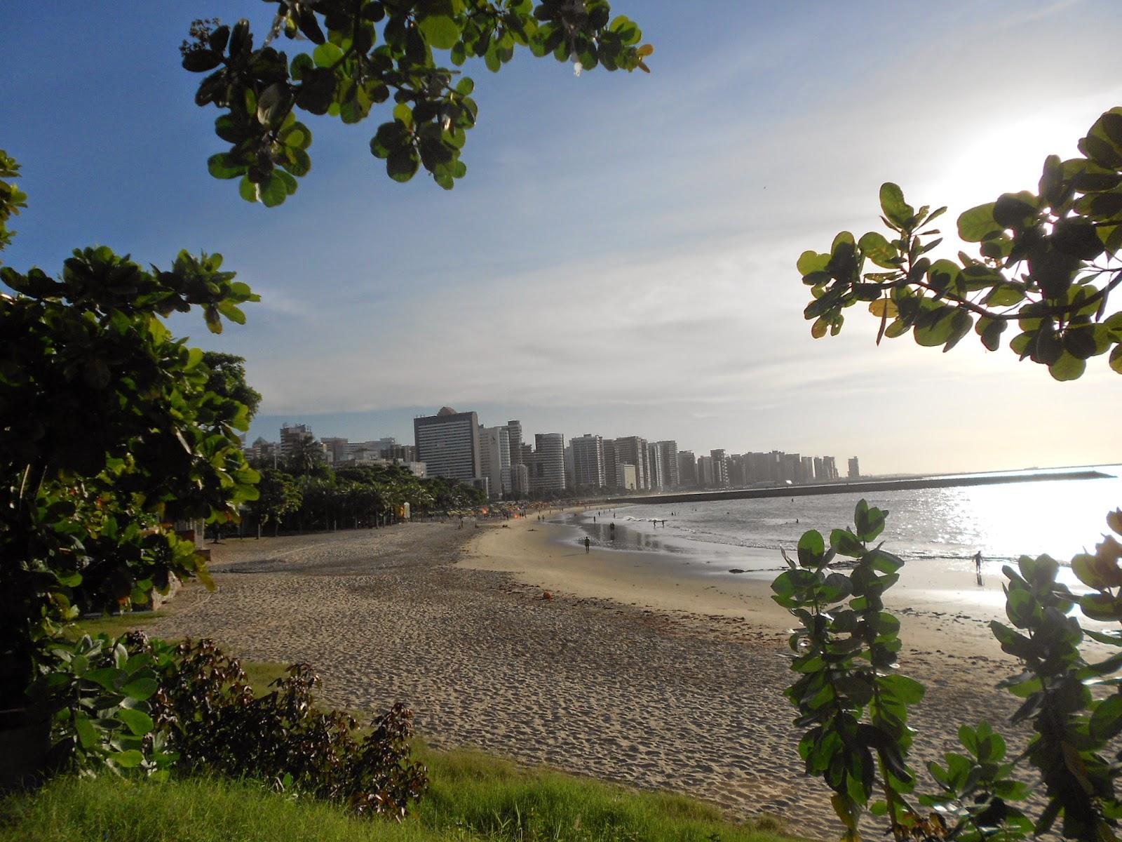 Orla da praia - Av. Beira Mar - Fortaleza