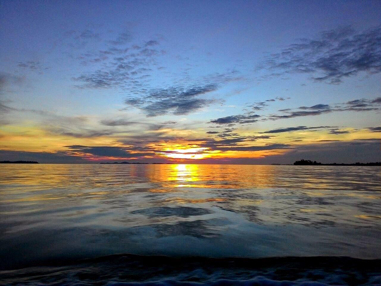 Sunset kece Batam