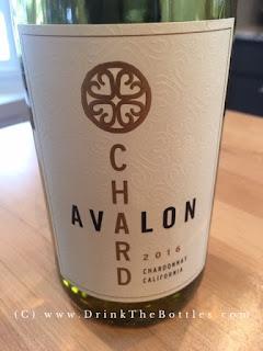 2016 Avalon Chardonnay Label