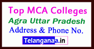Top MCA Colleges in Agra Uttar Pradesh