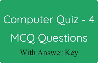 Computer Quiz - 4