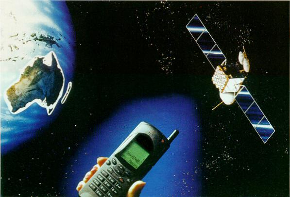 المكالمات الهاتفية غبر الاقمار الصناعية