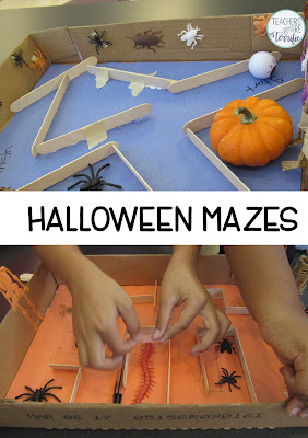 STEM Challenge: Create a Haunted House Maze that a ball will roll through!