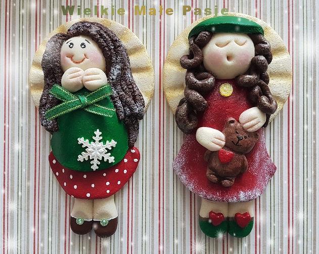 masa solna, aniołki z masy solnej, boże narodzenie, dekoracje świąteczne, świąteczne aniołki  z masy solnej, salt mass, angels from salt mass, Christmas, Christmas decorations, Christmas angels with salt mass, Masa de sal, ángeles de la masa de sal, Navidad, adornos navideños, ángeles de Navidad con masa de sal, Salzmasse, Engel aus Salzmasse, Weihnachten, Weihnachtsschmuck, Weihnachtsengel mit Salzmasse, соляная масса, ангелы из соляной массы, новогодние, рождественские украшения, новогодние ангелы с соляной массой