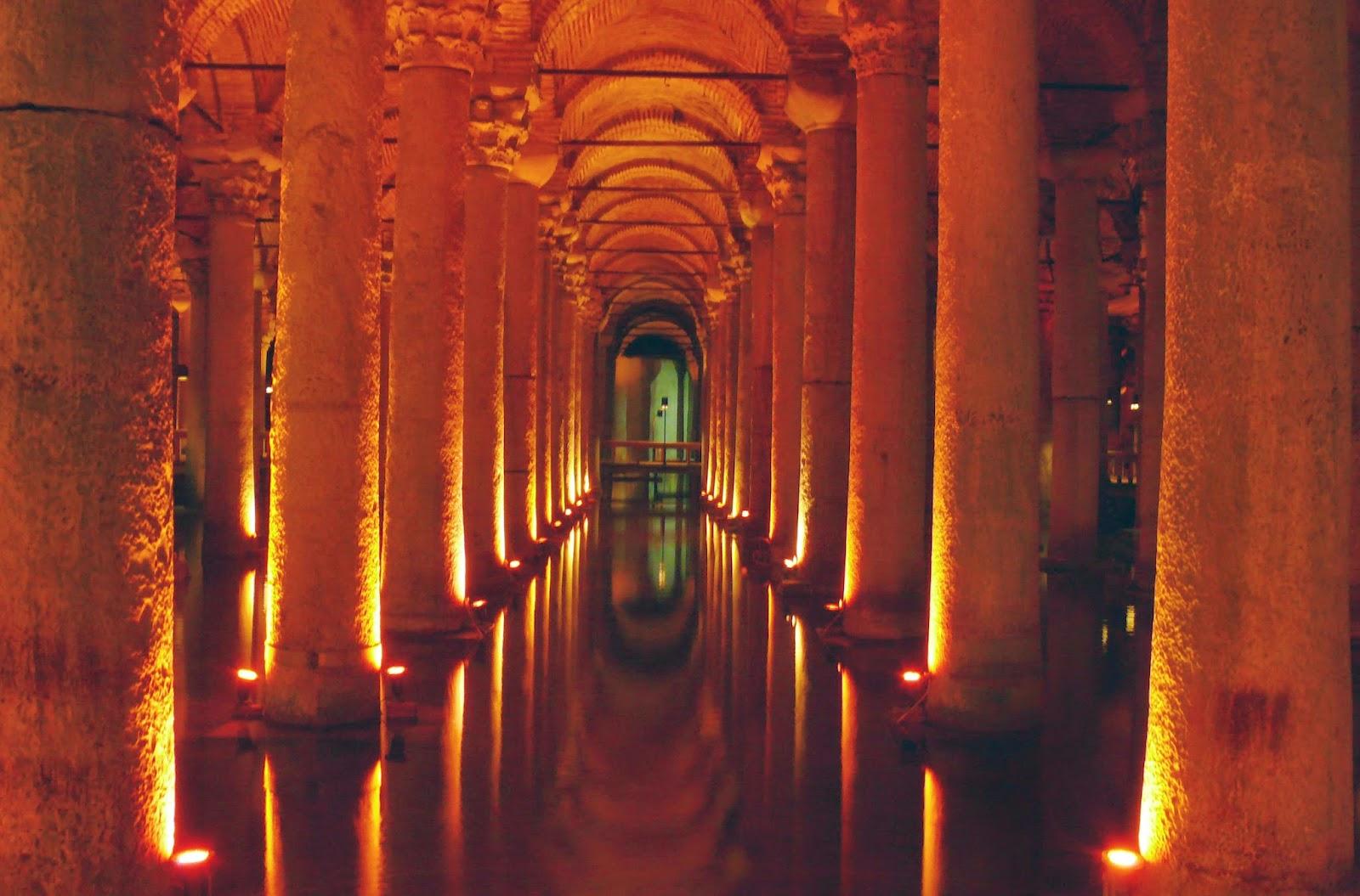 Cisternas de Yerebatan