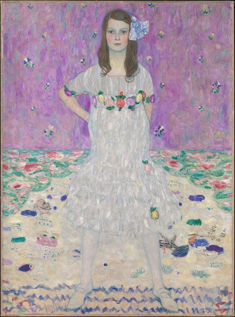 メーダ・プリマヴェージ 1912年 クリムト、官能と黄金の画家とは?クリムトの見ておきたい絵画14選【a】