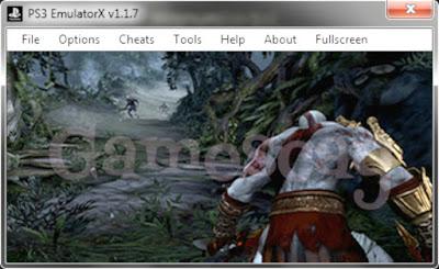 PS3 Emulator God Of War 3 Game