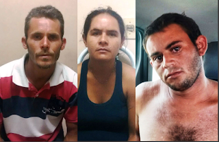 Três pessoas são presas acusadas de matar adolescente em Barra de Santa Rosa