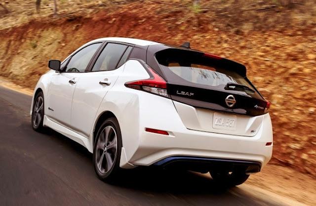 2019 Nissan Leaf Facelift Canada