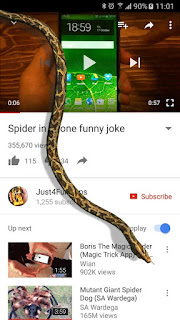 Snake On Screen Hissing Joke APK