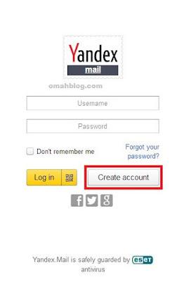 Cara Membuat Akun Email Baru Pada Yandex