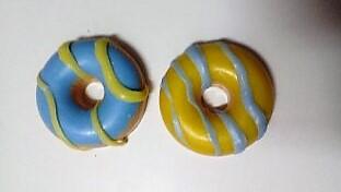 Jabón-natural-glicerina-vegetal-donuts-azul-y-amarillo-Chaladura-de-jabones