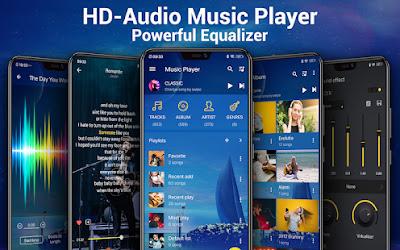 player de musica, celular