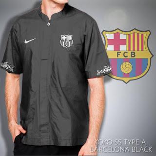 Baju muslim koko barcelona murah