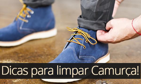 ab4cea3d32b Macho Moda - Blog de Moda Masculina  Como limpar Sapato ou Tênis de  Camurça
