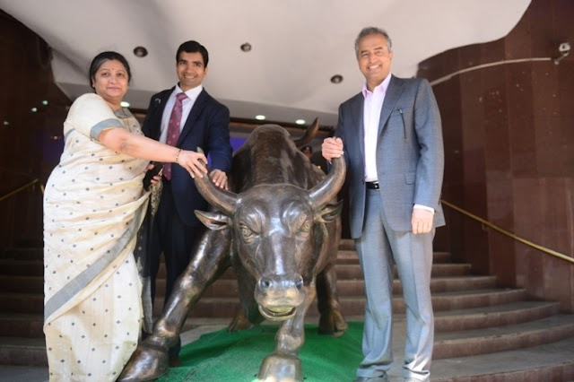Narayana Hrudayalaya Limited lists on the stock exchanges