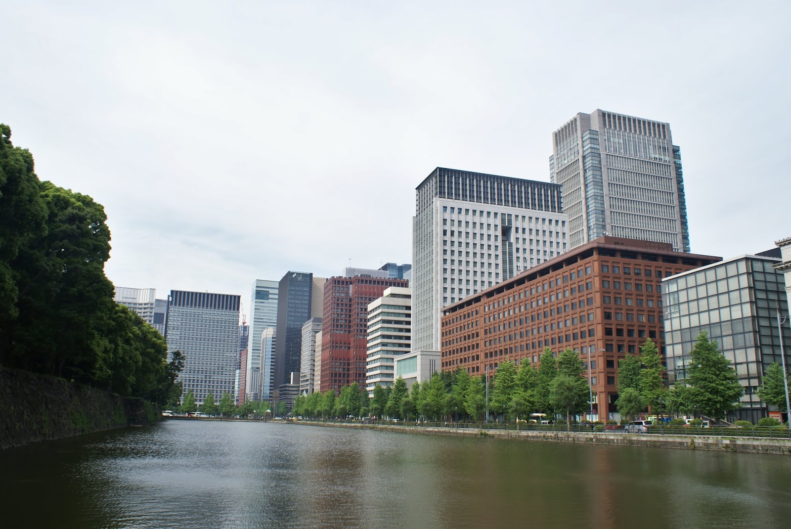 imperial park marunouchi japan