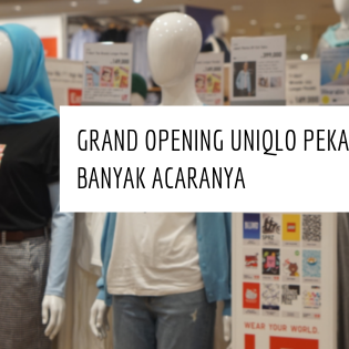 Grand Opening Uniqlo Pekanbaru, Banyak acaranya