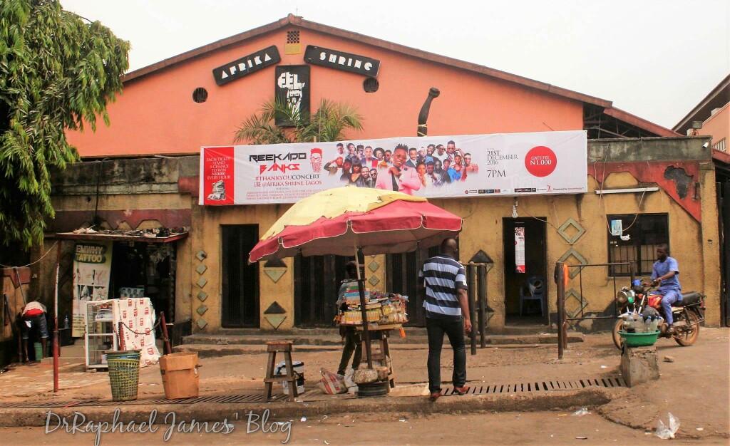 Image result for New Afrikan shrine street