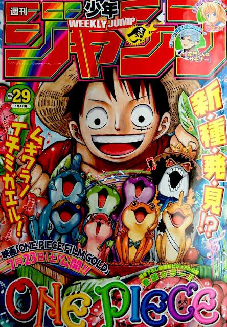 Weekly Shonen Jump 29 2016
