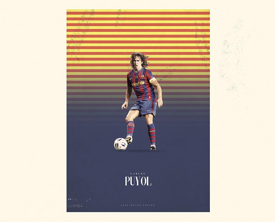 Carles Puyol Luke Walsh