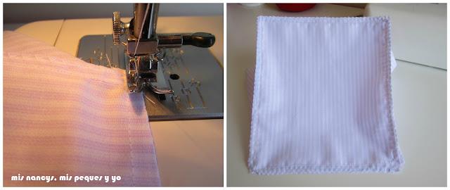 mis nancys, mis peques y yo, tutorial DIY funda cestas, costura en zig-zag