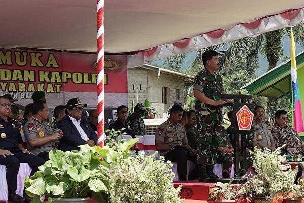 Panglima TNI Senang dan Bangga dengan Program PETASAN