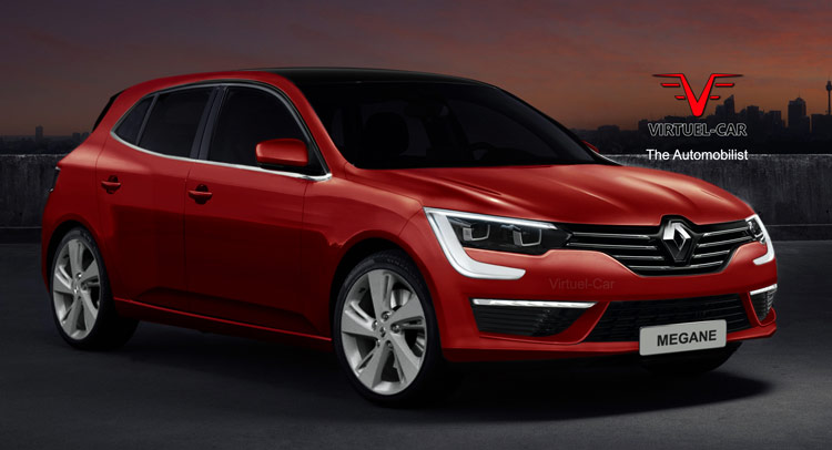 Check Out These Renders For 2016 Renault Megane IV