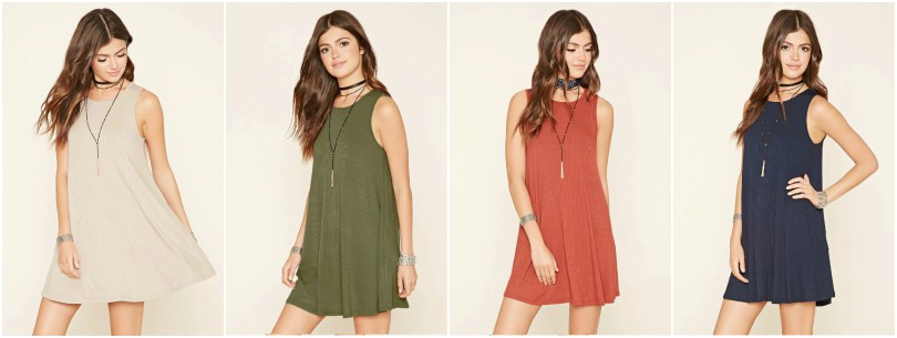 Ribbed Mini Dress $10 (reg $15)