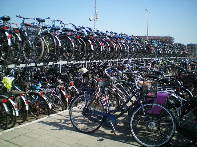 Estación de Delft en Holanda