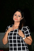 Shilpa Chakravarthy in Dark blue short tight dress At Srivalli Movie Pre Release Event ~  Exclusive Celebrities Galleries 026.JPG