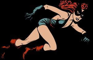 Superheroína de cómic