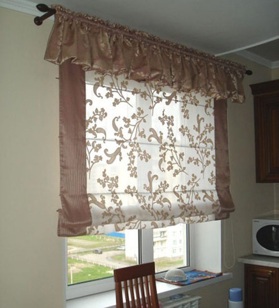 The best designs for kitchen roman blinds and curtains for Roman blinds kitchen ideas