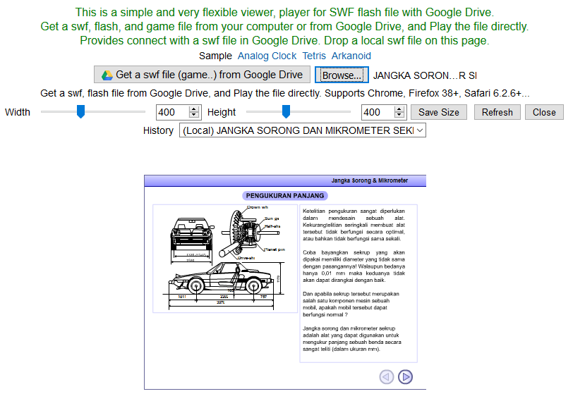 how to play swf files on google chrome