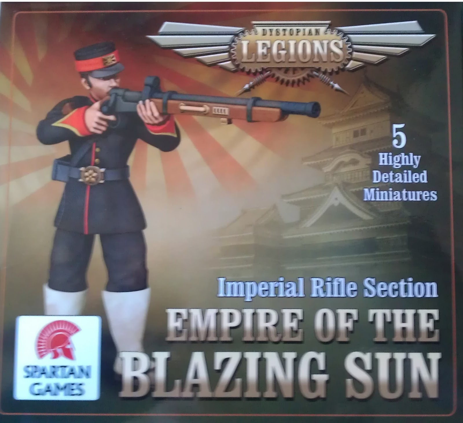 Review War Games: Empire of the blazing sun Imperial rifles