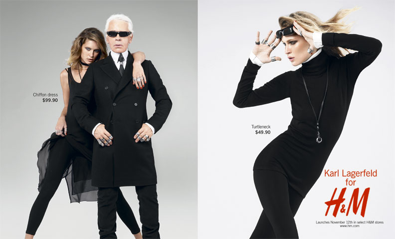 news storys pictures and many more about karl lagerfeld karl lagerfeld for h m 2004. Black Bedroom Furniture Sets. Home Design Ideas