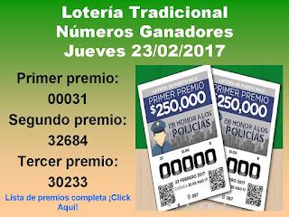 loteria-tradicional-sorteo-087-jueves-23-02-2017