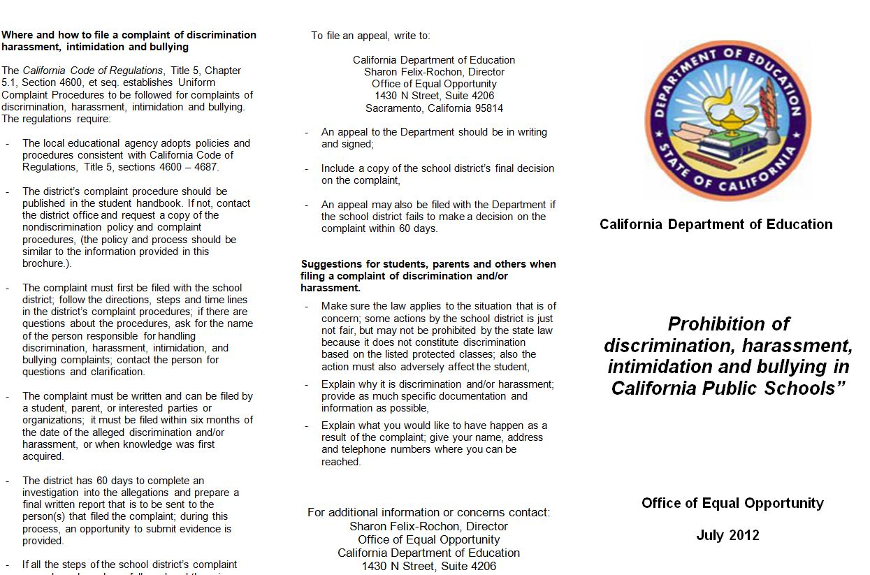 nondiscrimination policy doc examples
